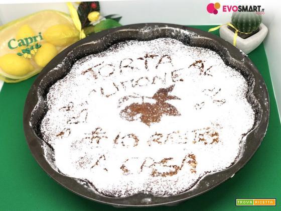 Torta al limone cremosa gluten-free velocissima