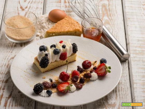 Barretta di crema al mascarpone: delizia morbida e fruttata