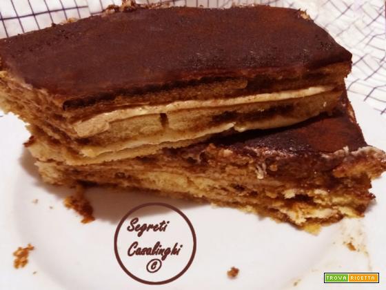 torta budino pan di spagna