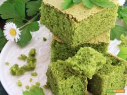 Torta Sponge al Prezzemolo