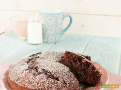 Torta al cacao senza uova e burro