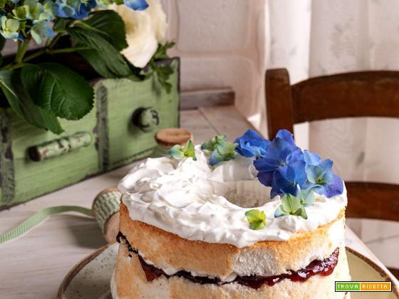 Angel cake senza glutine