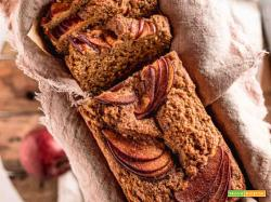 Torta allo Yogurt e Mele Senza Uova Vegan Apple Loaf Cake