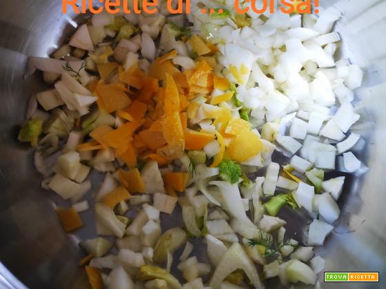 Ricette della quarantena - Pasta con finocchio e limone