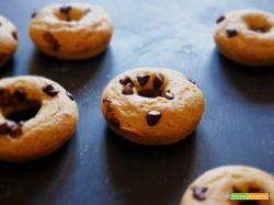 Ciambelle vegan con gocce di Cioccolato
