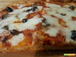 Impasto per pizza in teglia fatta in casa: la ricetta a lunga lievitazione