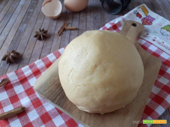 Pasta frolla alla cannella
