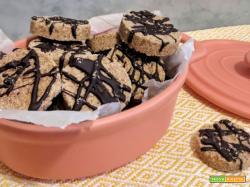 Biscotti di segale alla cannella con noci e senza glutine
