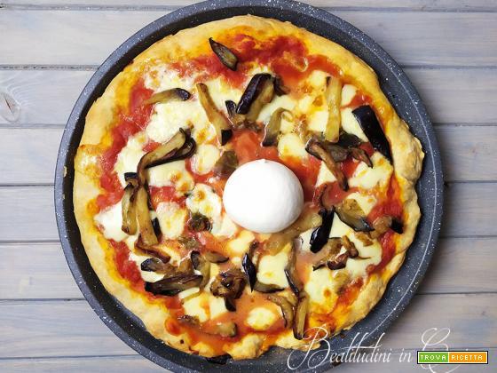 Pizza di Grano Verna 24 ore di lievitazione metodo Bonci