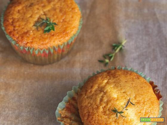 Muffin limone miele e timo