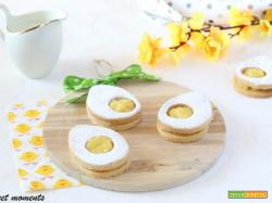 Biscotti uovo occhio di bue