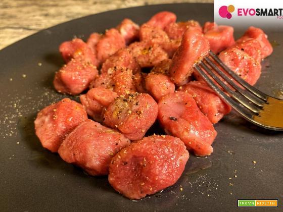 Ricetta facile e veloce: gnocchi di barbabietola