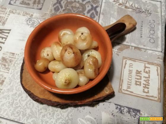 Cipolline boretane in padella