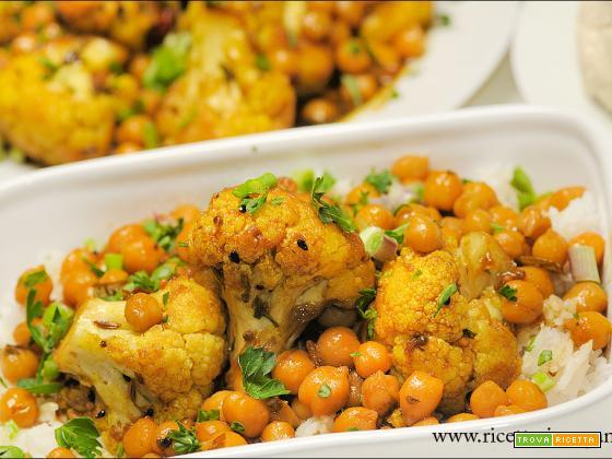 Pickles di cavolfiore dell'India meridionale