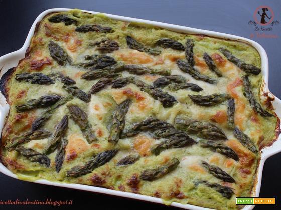 Lasagne agli asparagi (ricetta bimby), idea per il pranzo di Pasqua