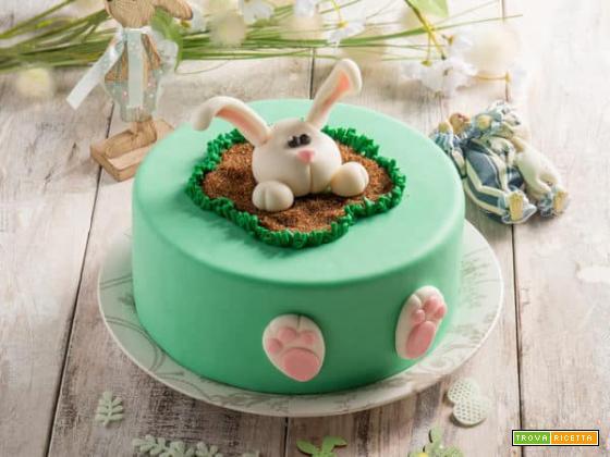 Torta con caffè e spalmabile Exquisa, un'ottima idea per Pasqua