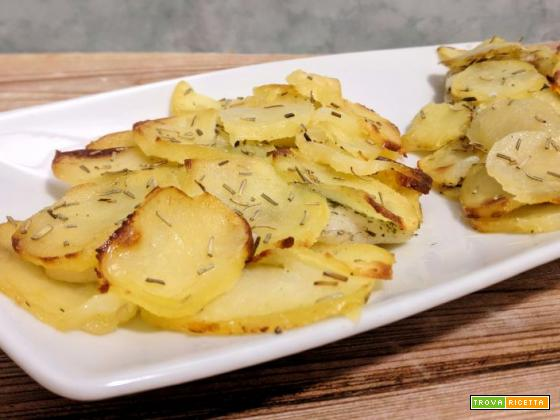 Filetti di platessa in crosta di patate