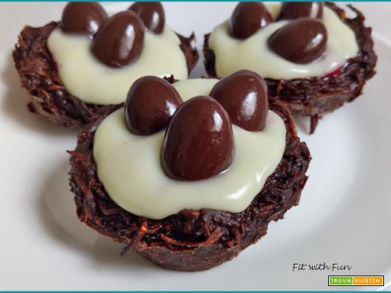 Nidi di Patate al Cioccolato Senza Glutine