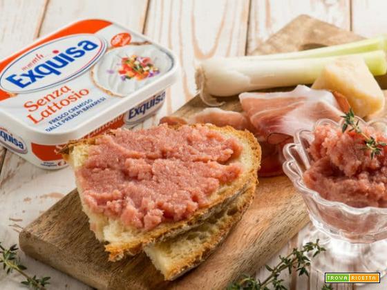 Mousse di speck e formaggio, un ottimo stuzzica appetito