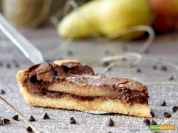 Crostata al Cioccolato e Pere
