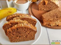 Banana Bread Proteico Caffè e Arachidi