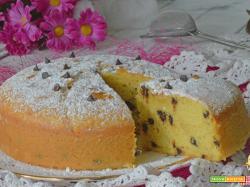 Torta con GOCCE di CIOCCOLATO ricetta FACILE e SENZA burro