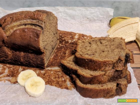 Banana Bread senza burro e senza latte