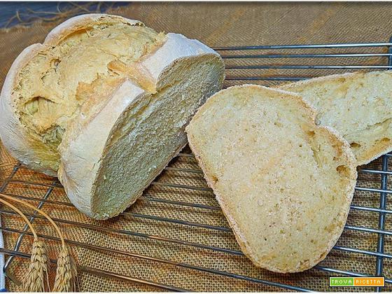 Pane bianco fatto in casa | ricetta facile