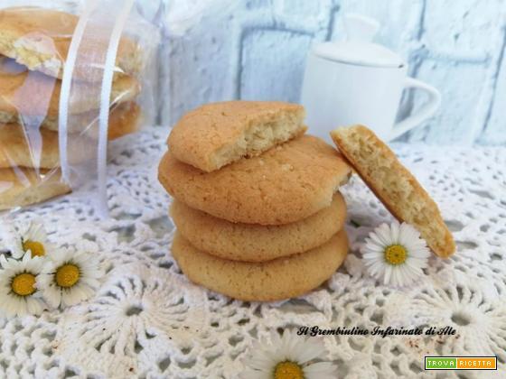 Biscotti da forno all'ammoniaca