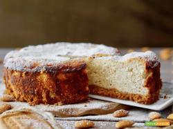 Cheesecake alle Mandorle e Ricotta