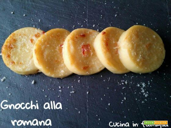 Gnocchi alla romana - Cucina laziale