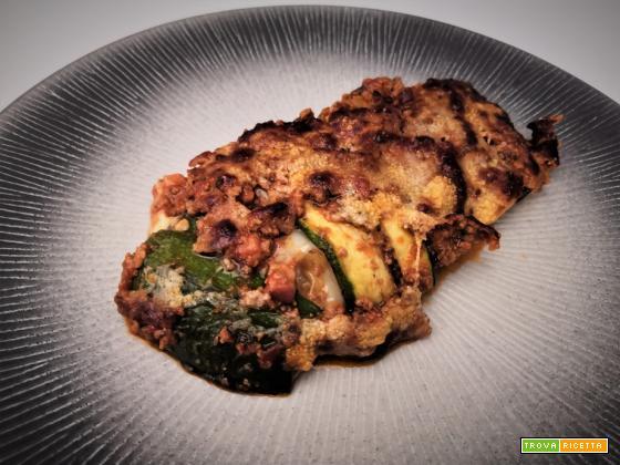 Parmigiana ricca di zucchine