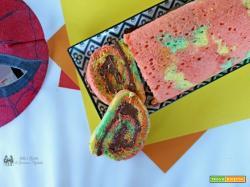 Rotolo colorato alla nutella