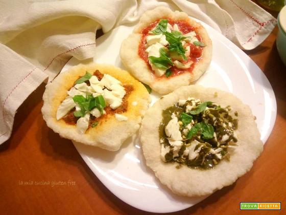 Pizza fritta o montanara senza glutine