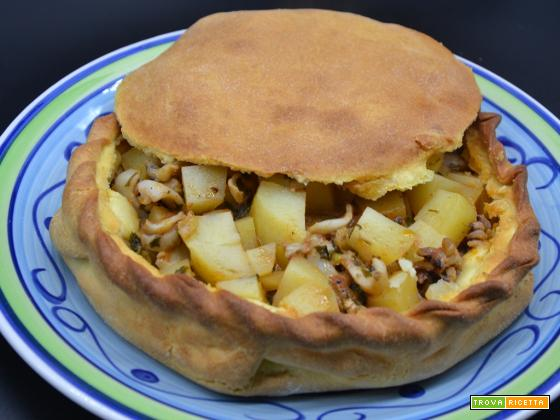 Ricetta – Impanata con seppioline e patate