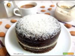 Mini Torta al Caffè con Crema alla Mandorla
