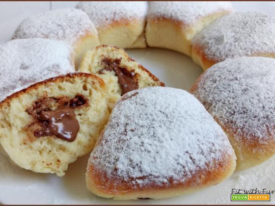 Danubio Proteico al Cocco e Cioccolato