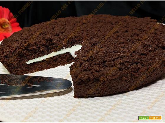 Torta sbriciolata cacao mascarpone e cocco