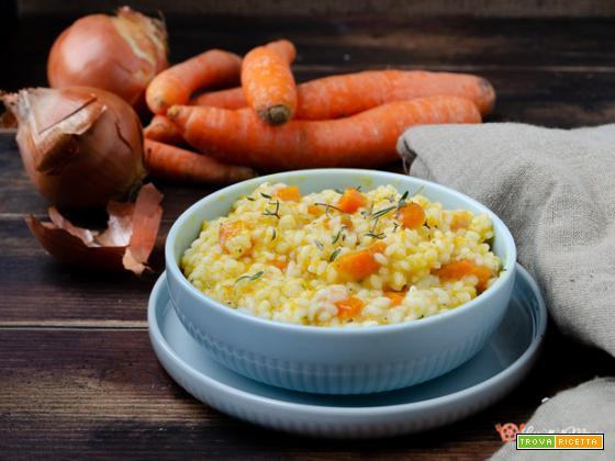 Risotto alle carote