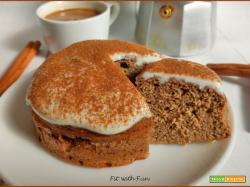 Mini Torta Cappuccino Proteica e Low Carb