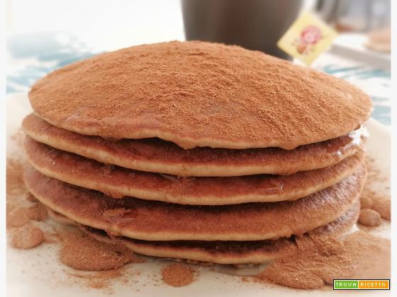 Pancakes glutenfree miele e cannella