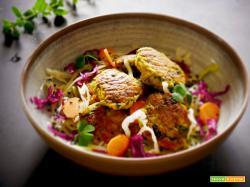 Polpette ricetta facile di Patate, Cicorie profumate al Curry