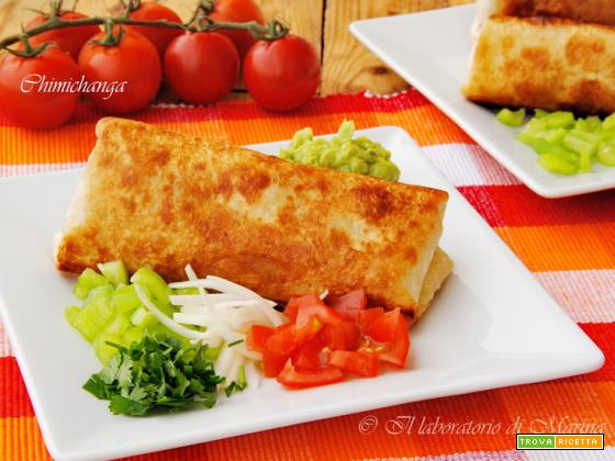 CHIMICHANGA DI POLLO