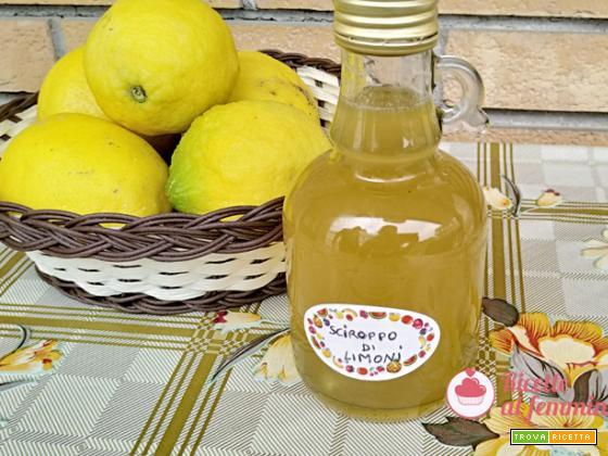 Sciroppo di limoni con il bimby