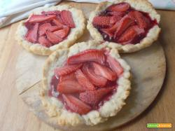 Crostatine di fragole