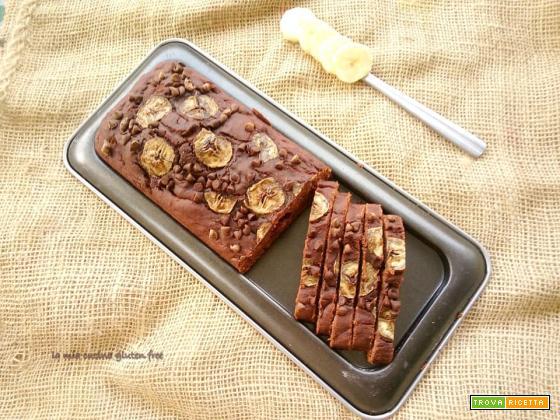 Plumcake con banana e cacao