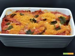 Ricetta – Parmigiana con filetti di merluzzo gelo