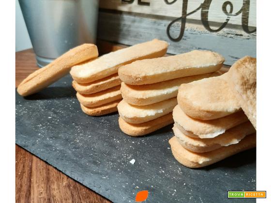 Biscotti Savoiardi con farina di riso
