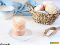 Muffin all'acqua di cocco
