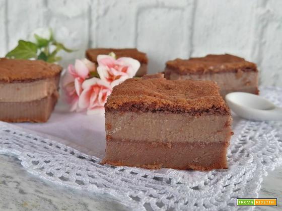 Torta Magica al cacao senza burro